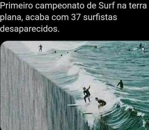 BEIRA DO UNIVERSO PLANO - meme