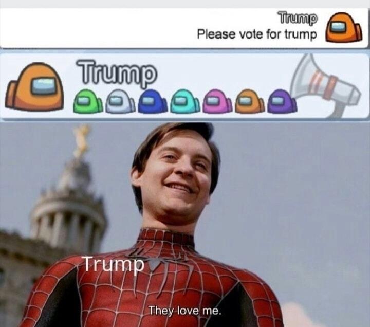 Nova guerra civil americana - meme