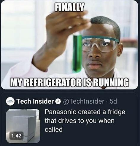 Ayo fridge bring me the heroin injection - meme