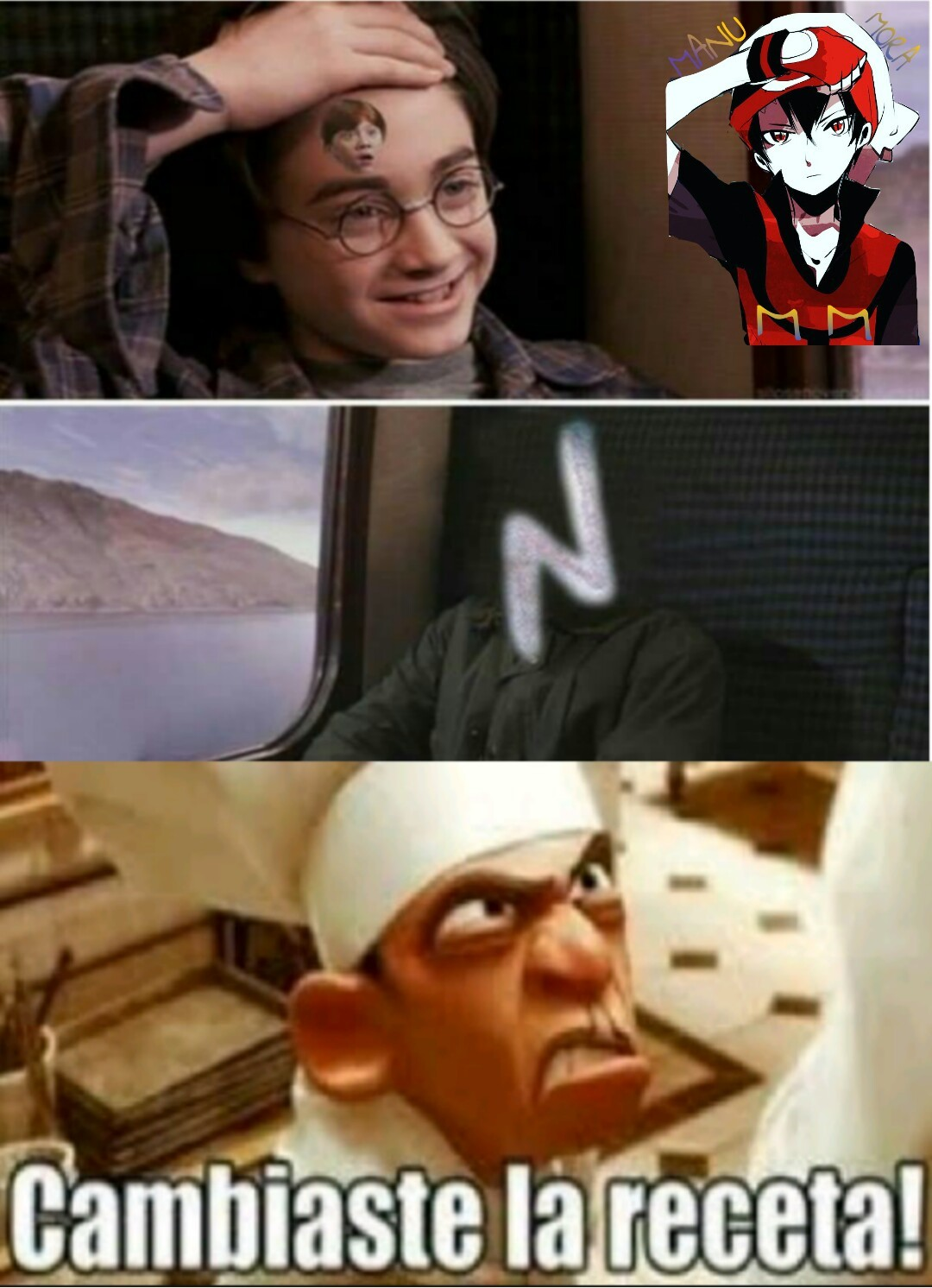 Harry Potas - meme