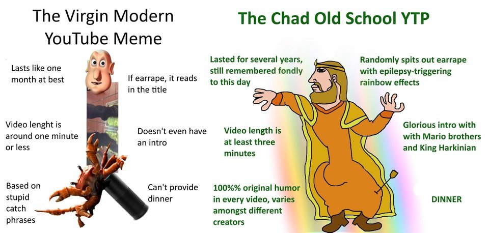 YOUTUBE IS WHERE THE POOP IS - meme