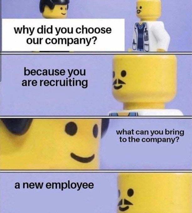 Interview prep - meme