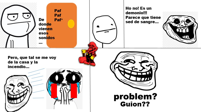 PROBLEM GUION???? - meme