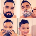Barba de hombre