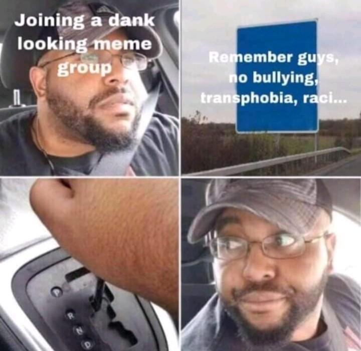 What kind of bullshit meme group is this?