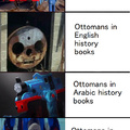 Ottomans in history books