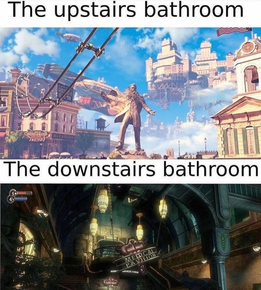 Poo room - meme
