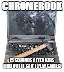 Chrome Book - meme