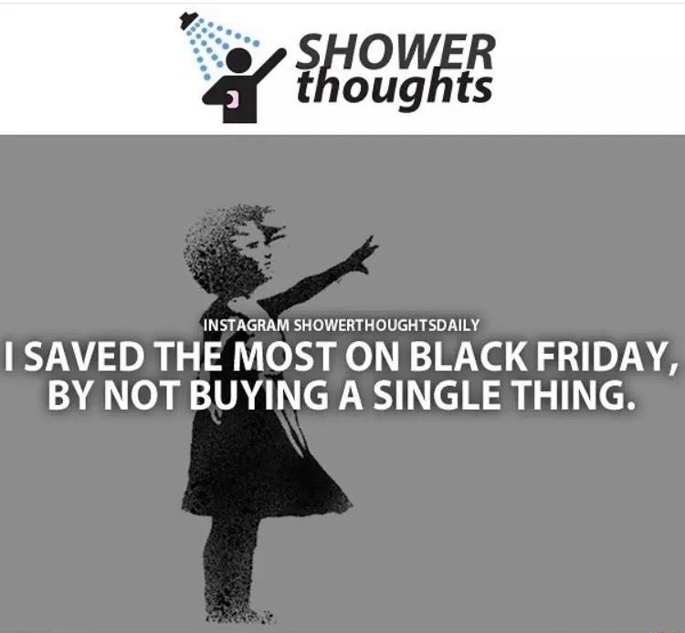 me on Black Friday - meme