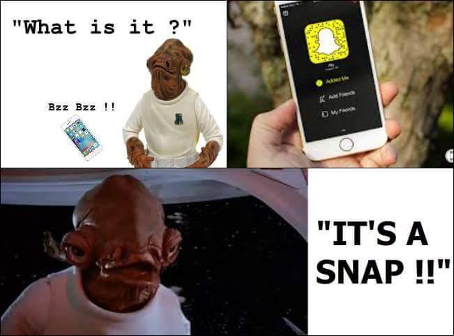 Snap - meme