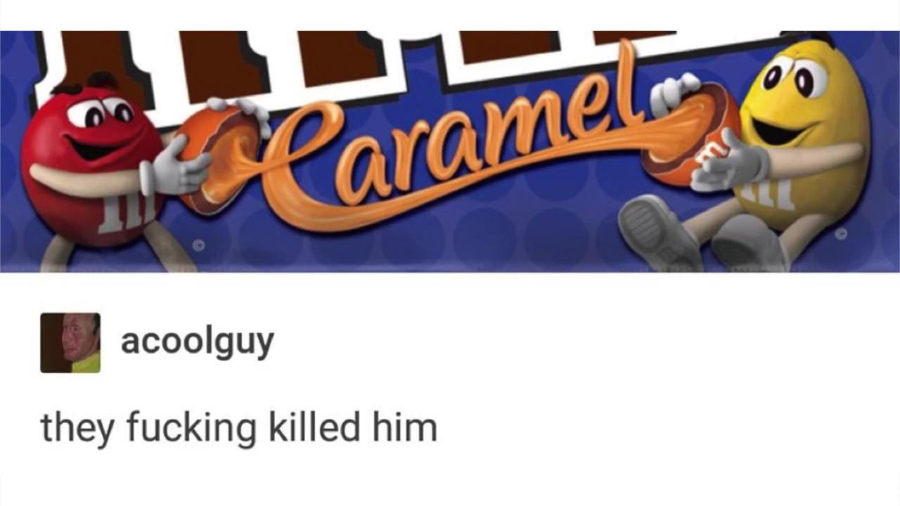 I require nourishment - meme