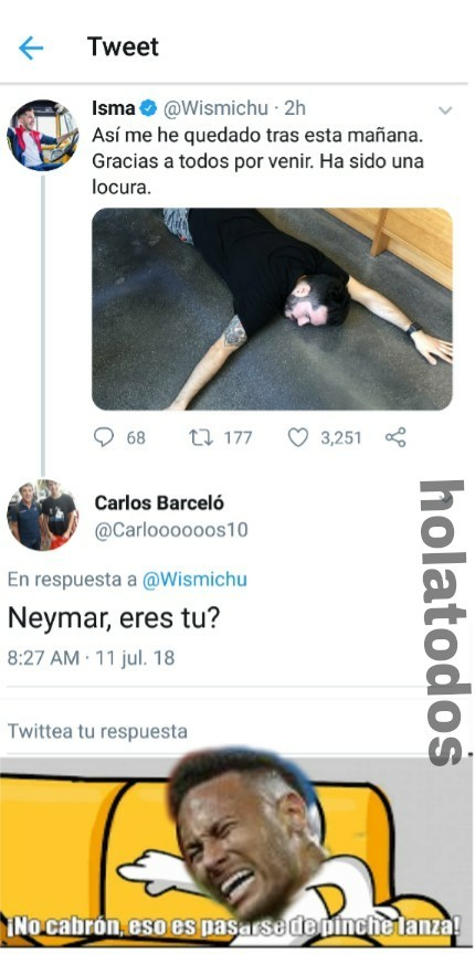 Ste Neymar - meme
