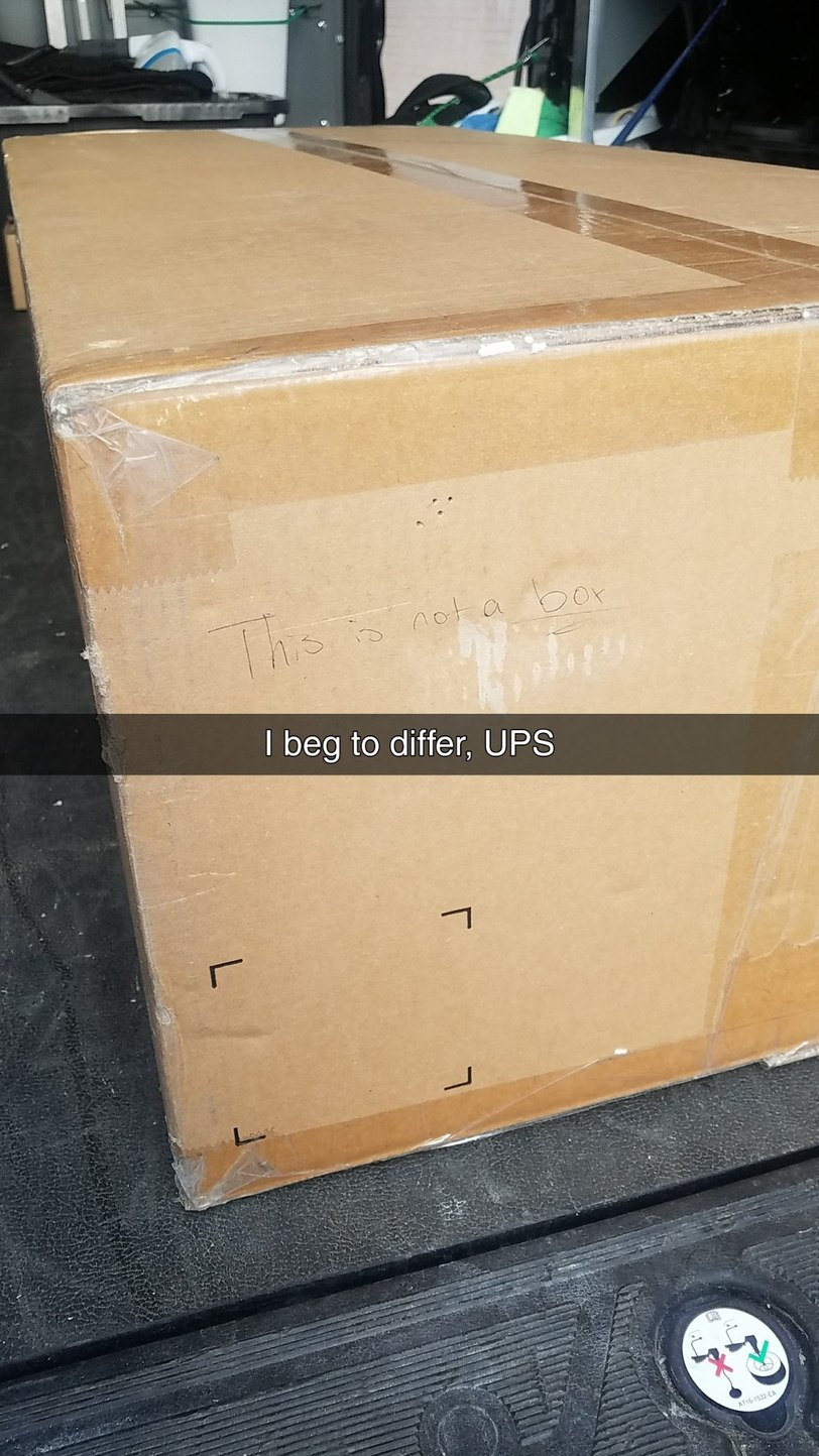 What's UPS with USPS FedExing from common sense? - meme
