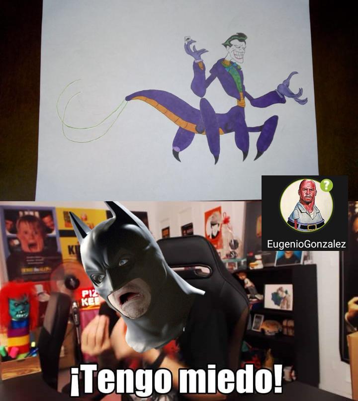 Yo mismo hice ese dibujo y pues lo ha ce un meme jaja