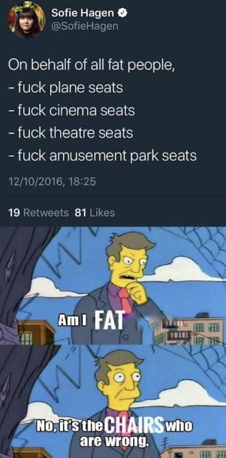 Toda vez que entra um gordo no ônibus eu fico puto. Vão fazer stand up - meme