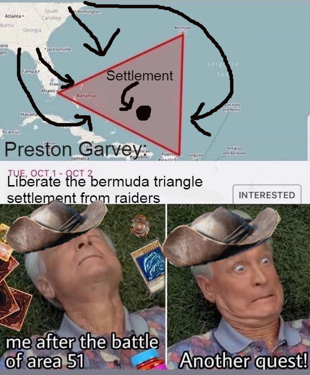 Preston Garvey After Area 51 - meme