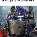 Un kapo el optimus prime
