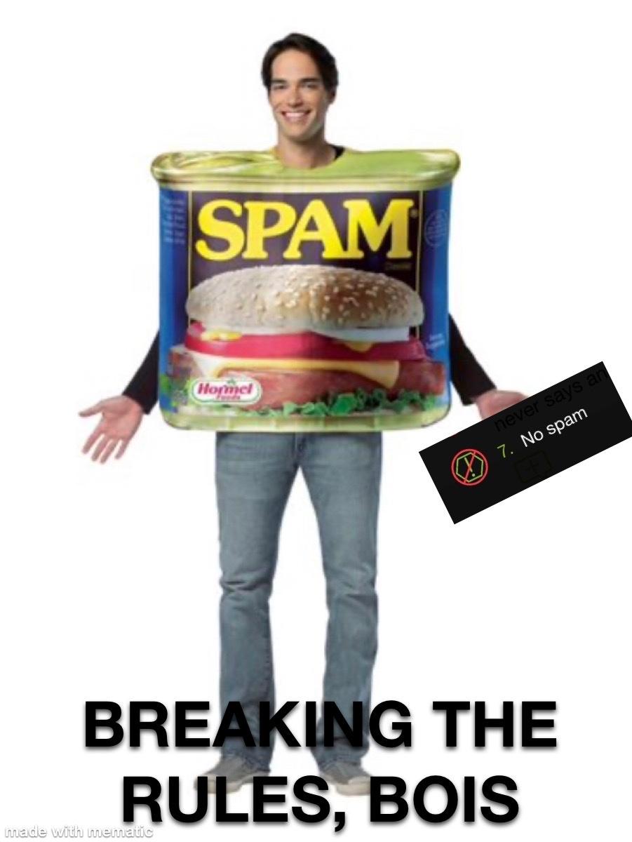 Spam Wars: Episode V: The SPAM-pire Strikes Back - meme