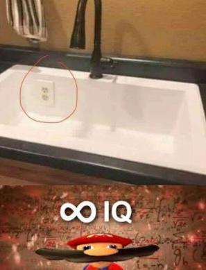 ∞ IQ - meme