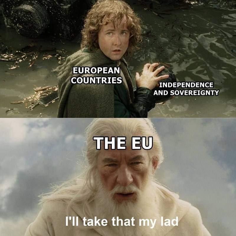 EU be like - meme