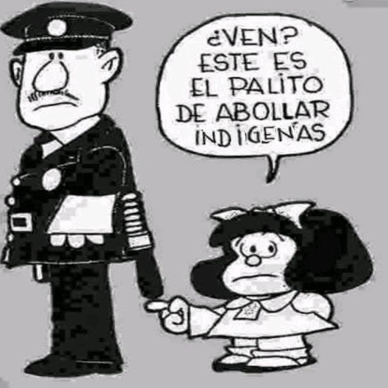 MALDITOS INDIGENAS - meme