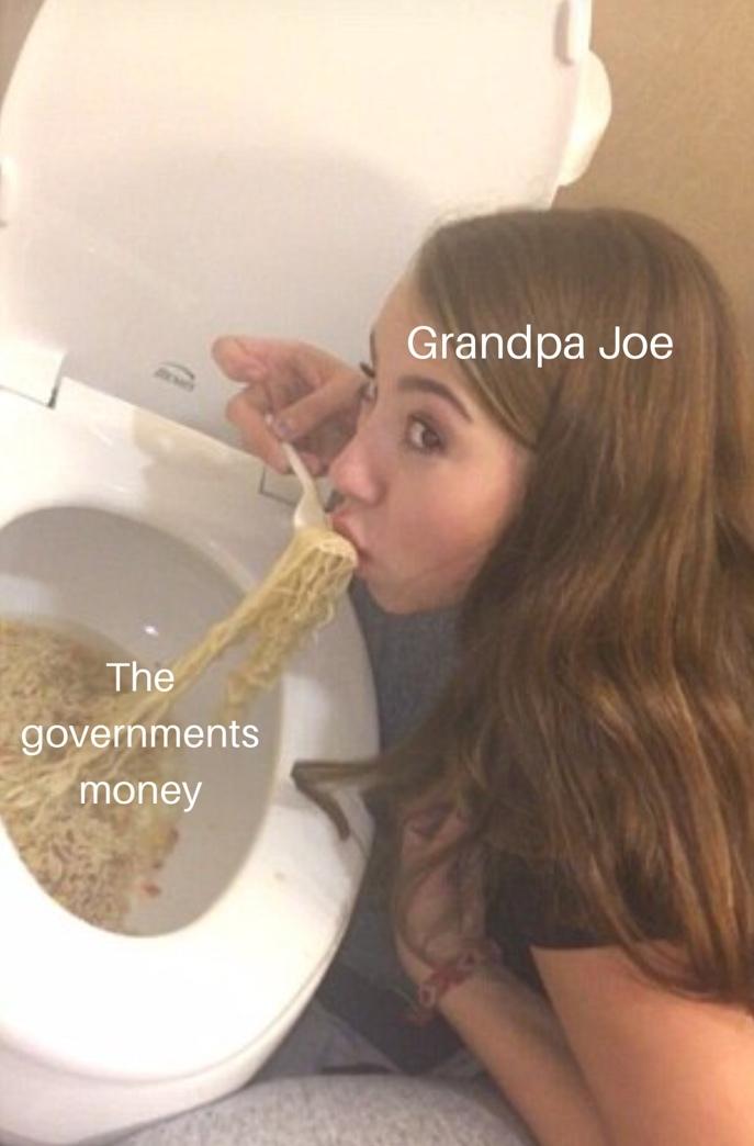 Fucking grandpa Joe - meme
