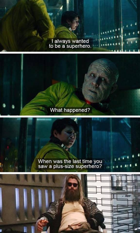 I always wanted to be a superhero - meme