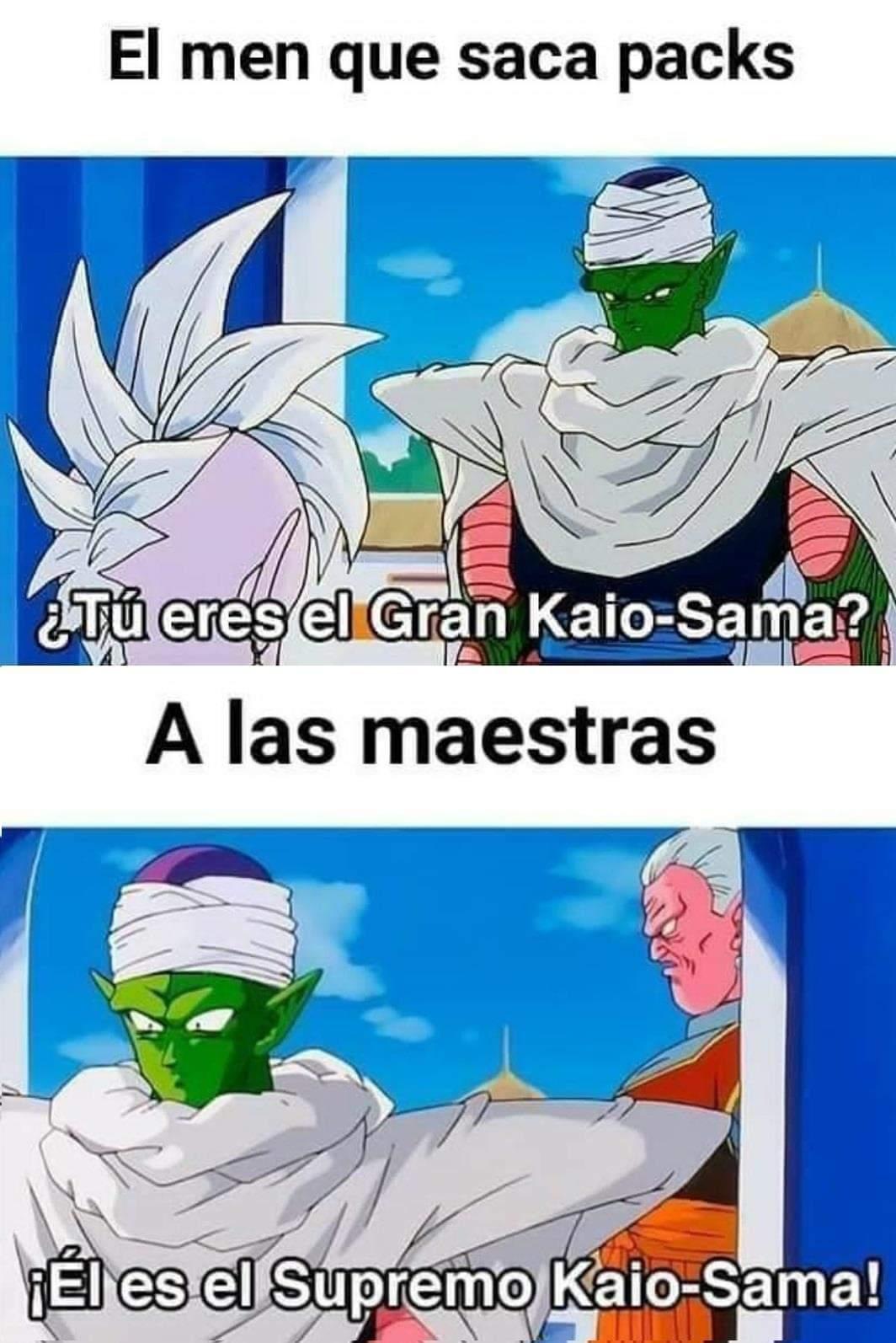 El supremo kaio-sama - meme