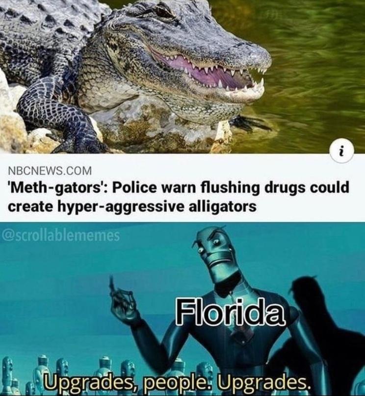 reptilian upgrades - meme