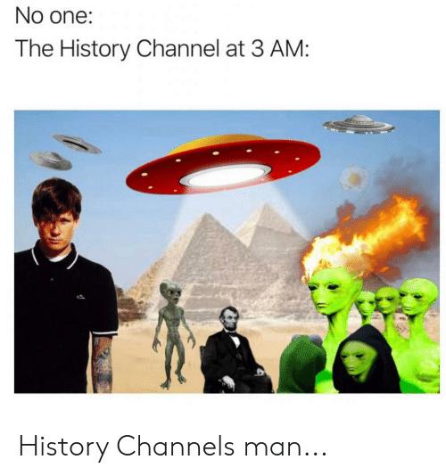 histori channel a las 3 am - meme