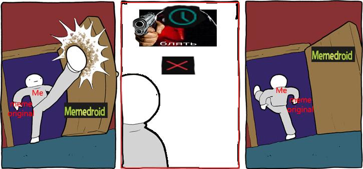 Puts moderação - meme