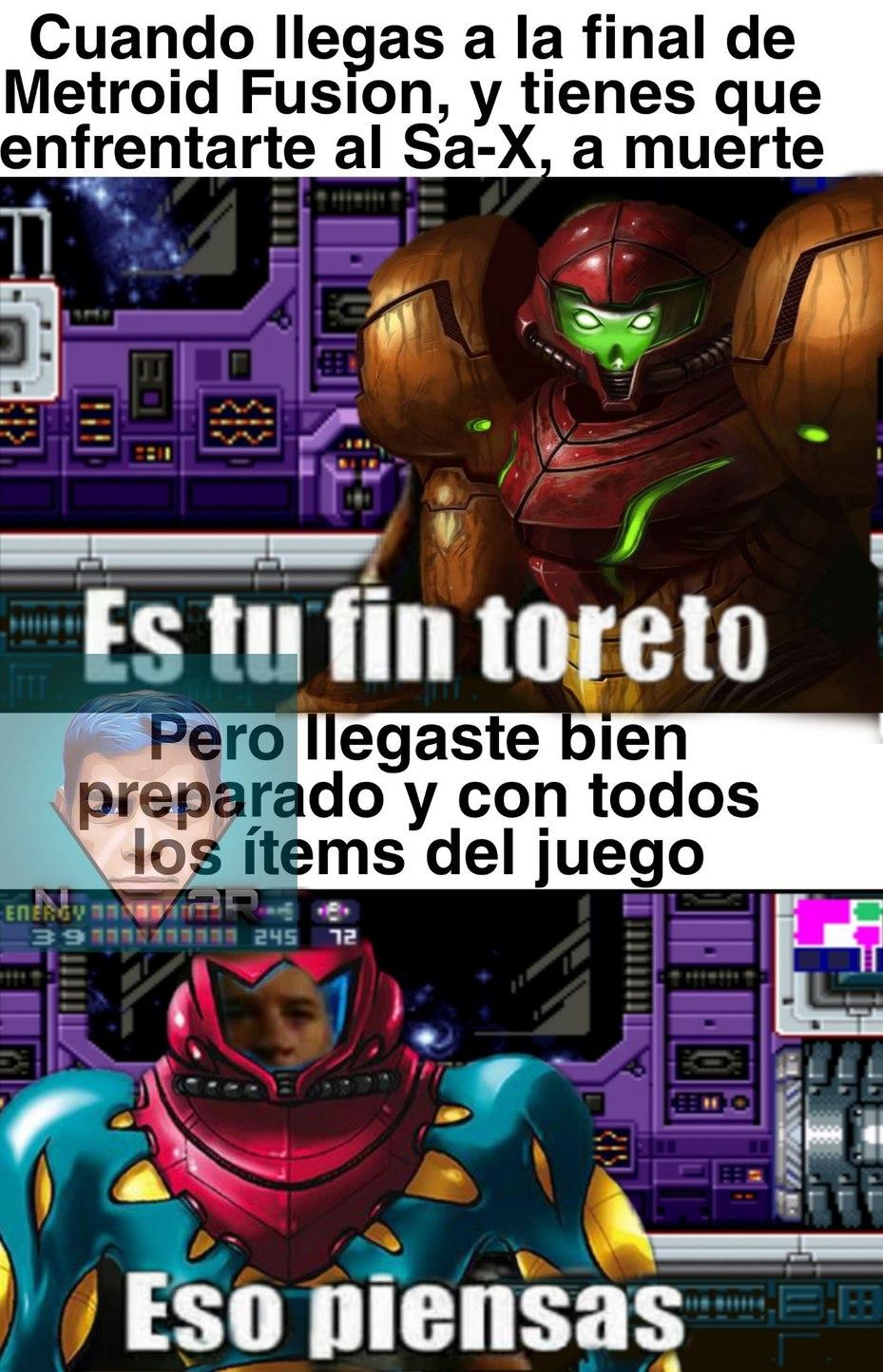 Metroid es un juegazo!! - meme