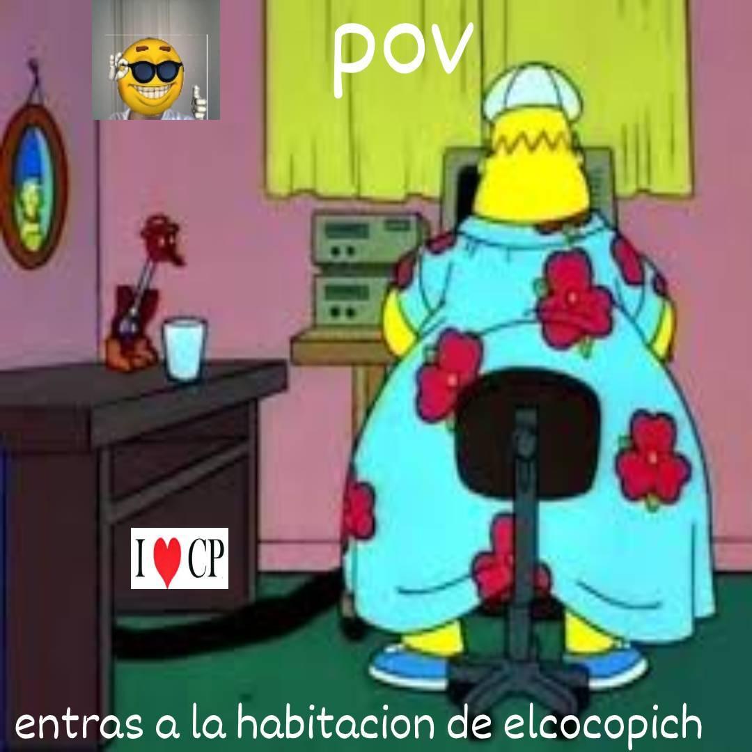 dato que a nadie le importa: el i love CP hace parte del cuarto de elcocopich - meme