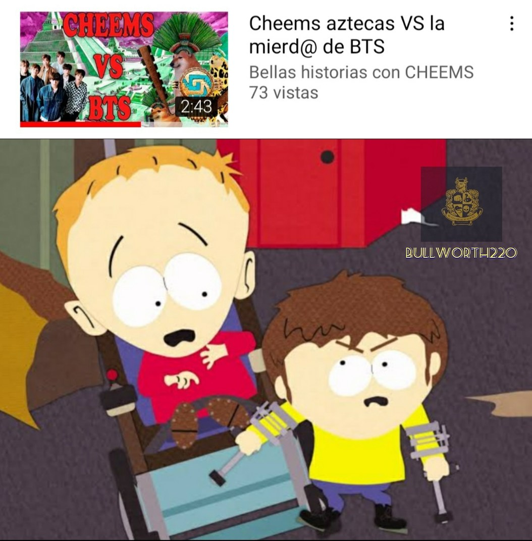 Pelea de invalidos - meme