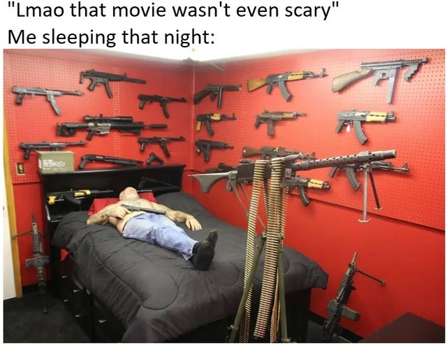 Horror movie - meme