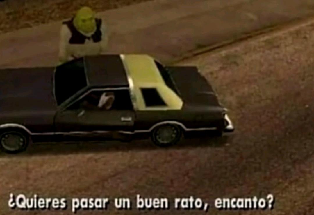 Ayy Shrek - meme