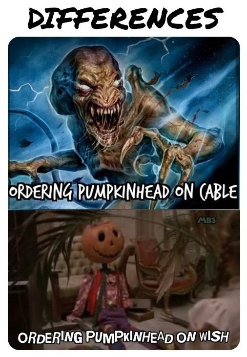 Pumpkinhead - meme