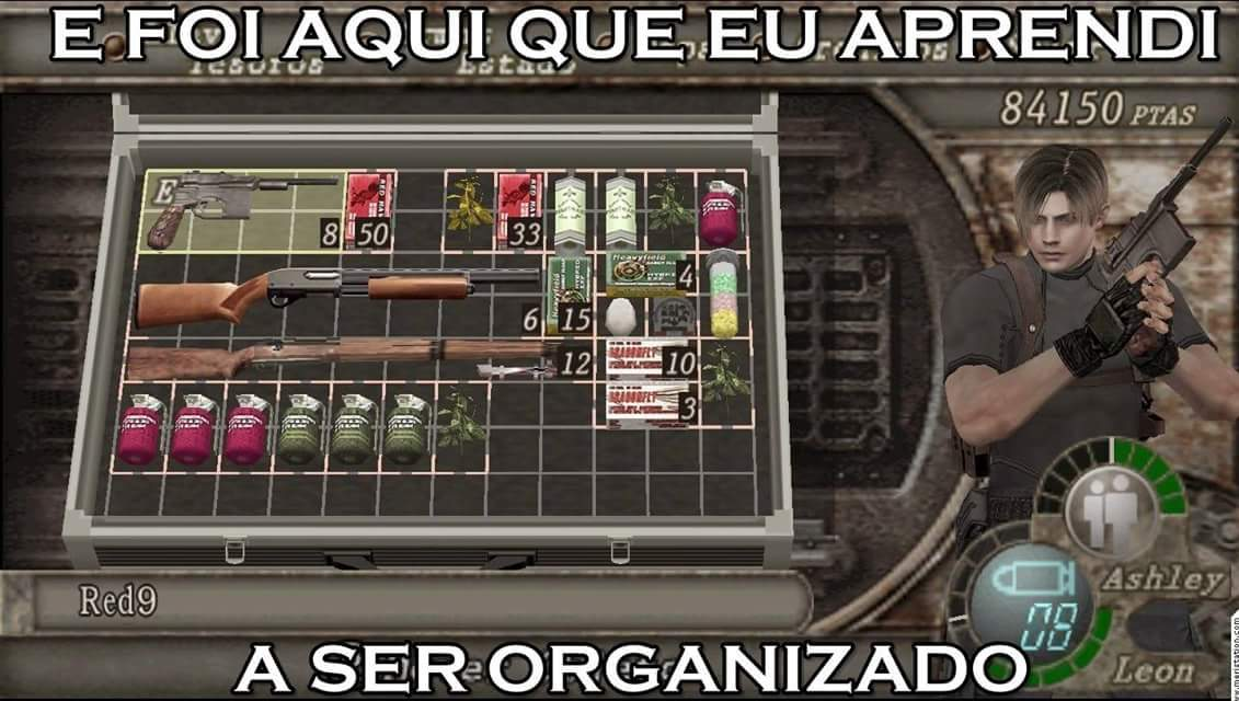 Que venha RE4 pro PS4 - meme