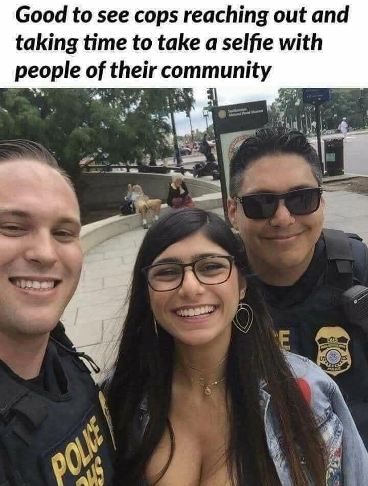 good cops are good - meme