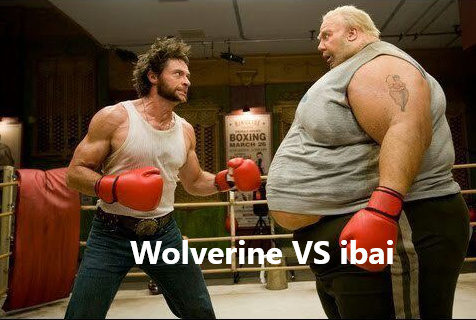 Woverine VS ibai - meme