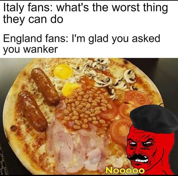 bean pizza - meme