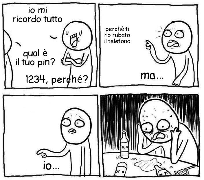 Il pin è inventato. Cito mmmmmn - meme