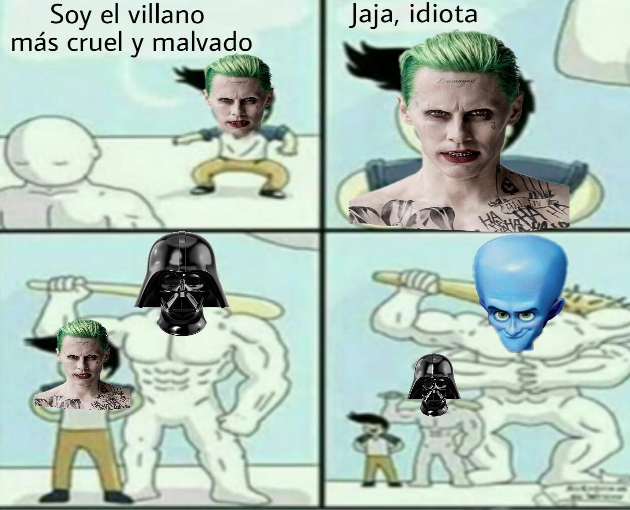 El mejor villano del mundo - meme
