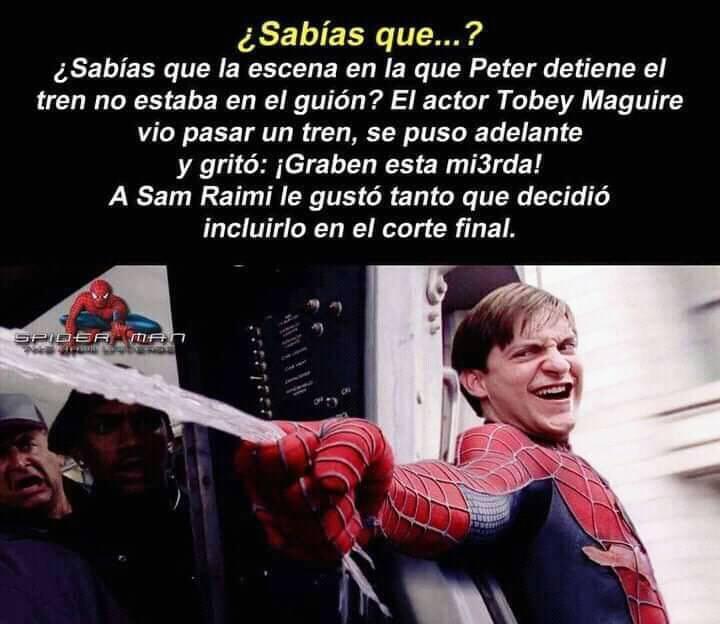 Grande Tobey Maguire - meme