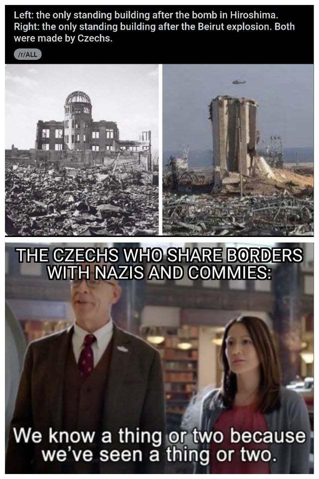 Czechs know a lot about Nazis - meme