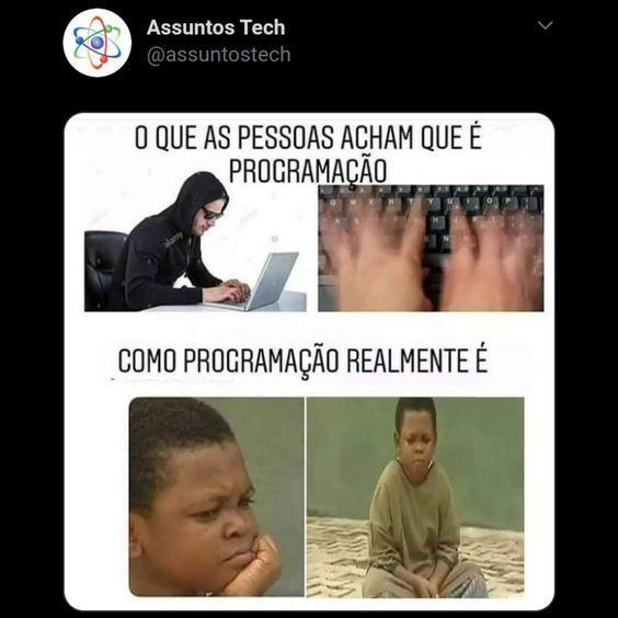 Programação - meme