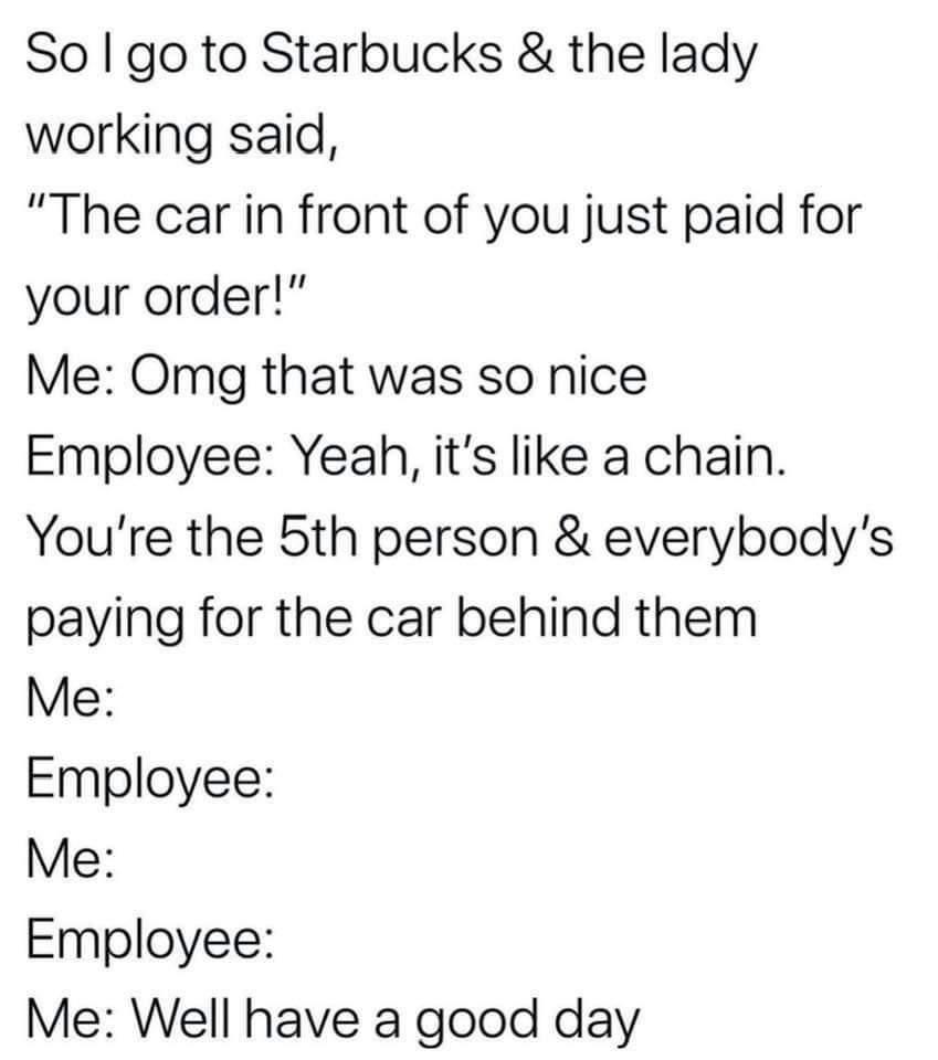 And no tip.... - meme
