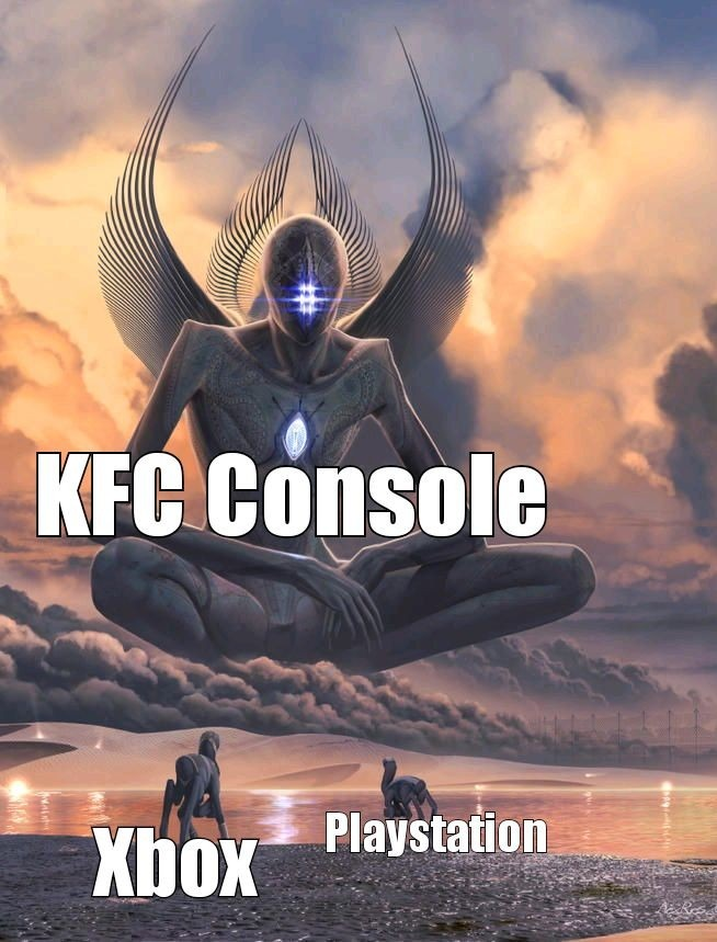 Console wars are over - meme