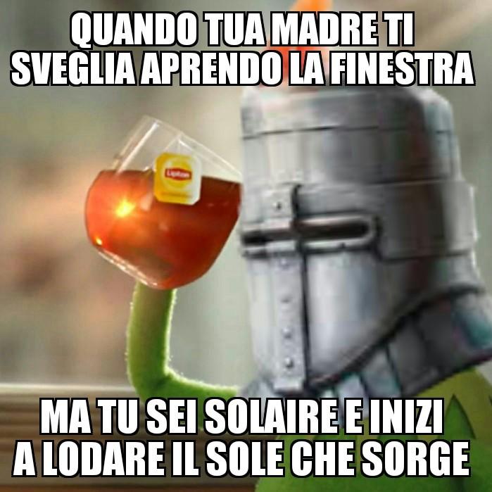 Praise the sun! \|T|/ - meme
