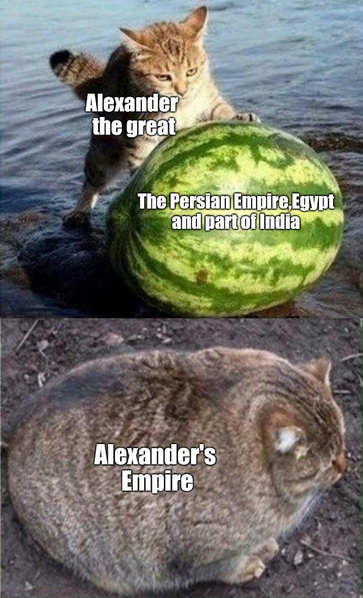 Thicc Alexander - meme